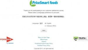 www.pricesmartfoods.ca/survey - PriceSmart Foods Customer Satisfaction Survey