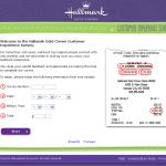 www.sharewithhallmark.com, $1,000 Hallmark Customer Satisfaction Survey