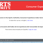 www.sportsauthorityfeedback.com - Sports Authority Customer Feedback