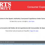 www.sportsauthorityfeedback.com - Sports Authority Customer Feedback