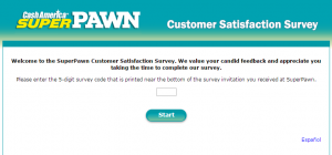 www.superpawnlistens.com - Cash America SuperPawn Customer Satisfaction Survey
