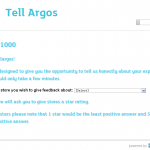 www.TellArgos.co.uk - Tell Argos Customer Survey