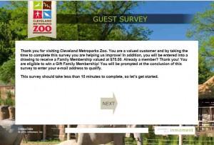 www.tellcmz.com - Cleveland Metroparks Zoo Guest Survey