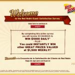 www.tellredrobin.com - Win www.tellredrobin.com, tellredrobin.com, Red Robin Satisfaction Survey,000 Cash Red Robin Satisfaction Survey