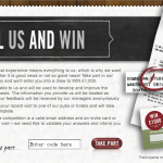 www.tellusandwin.co.uk - £1,000 Punch Pub Tell Us And Win Survey