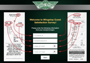 www.tellwingstop.com - Wingstop Guest Satisfaction Survey