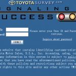 www.toyotasurvey.com - Toyota Customer Satisfaction Survey