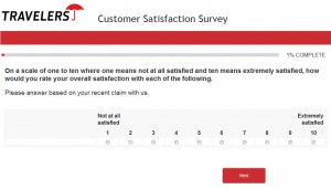 www.travelersfeedback.com - Travelers Customer Satisfaction Survey
