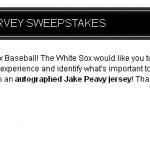 www.WhiteSox.com/Survey - White Sox TV Survey
